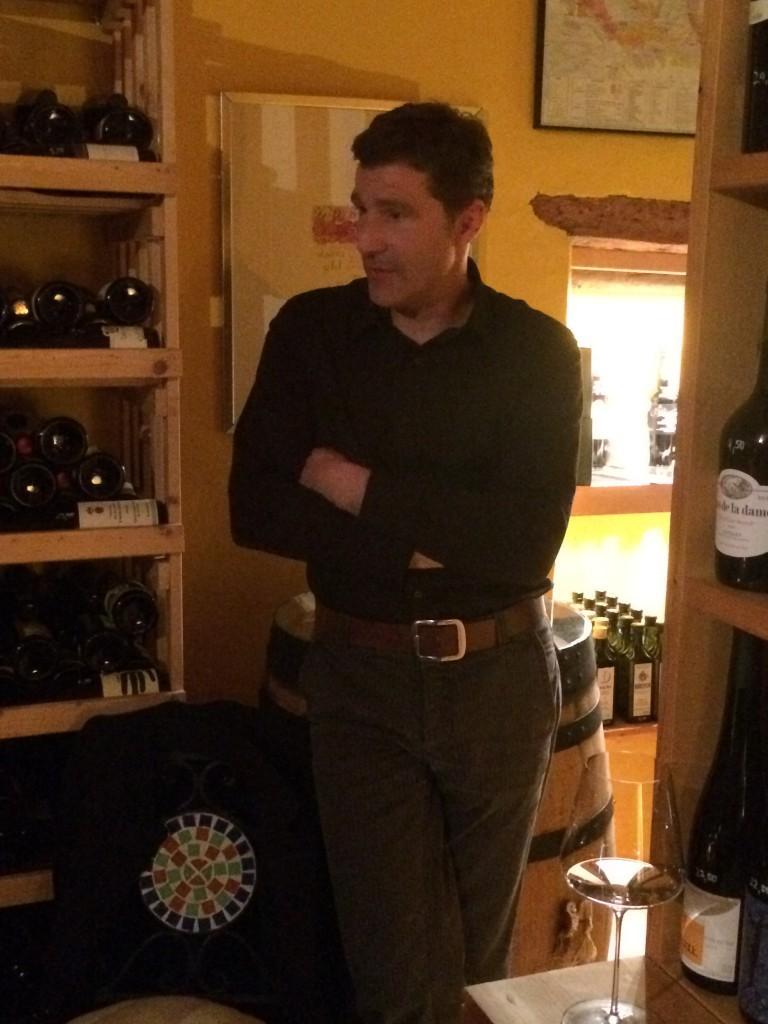Martin Schwarz zum After Work Tasting am letzten Freitag in unserer Weinhandlung in Freiberg